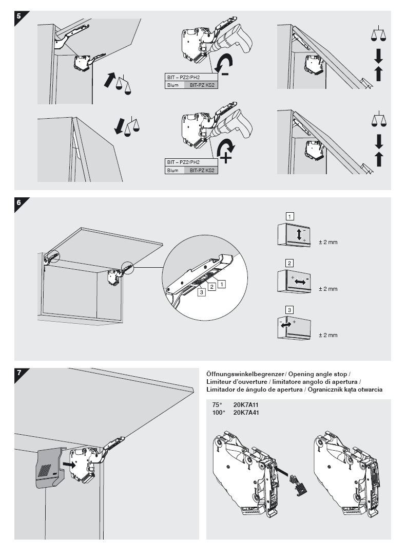 инструкция установить складной подъемный механизм в кухонный шкаф