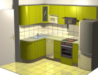 Фото дизайн угловых кухонь 10 м квадратных