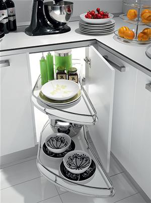 Выдвижные корзины для кухни (80+ фото) Механизмы карго, Цены | 402x300